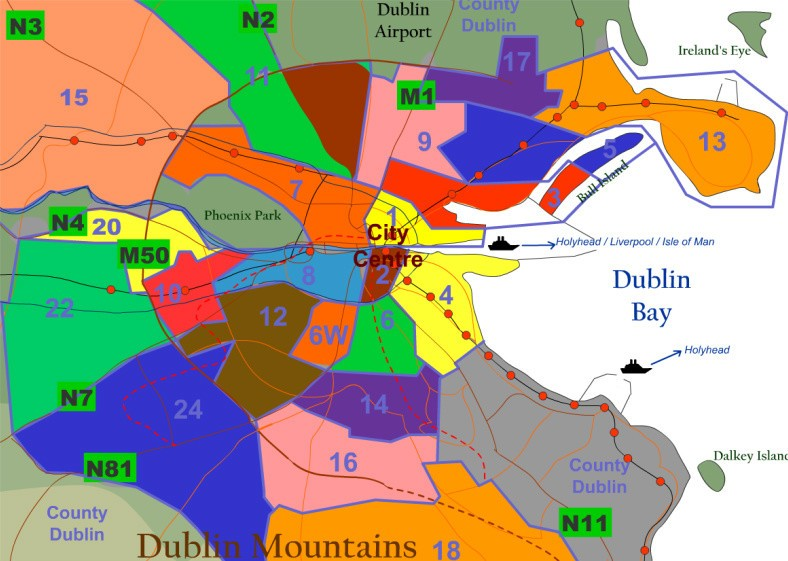 Dublin-Postal-Areas